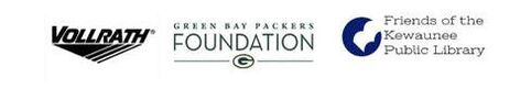 Vollrath, Green Bay Packers Foundation, and Friends of the Kewaunee Public Library